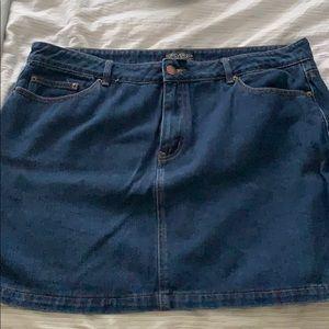 Forever 21 Size 18 Denim Skirt